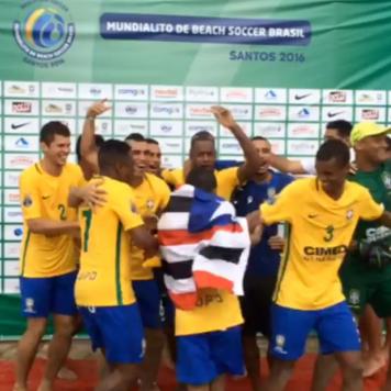 Em boa fase, Brasil enfrenta Japão na abertura do Mundialito Beach Soccer, em Santos